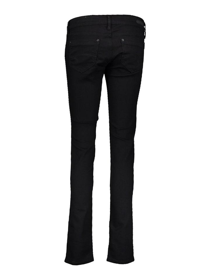 Mavi Jeans Jeans Lindy - Skinny - in Schwarz