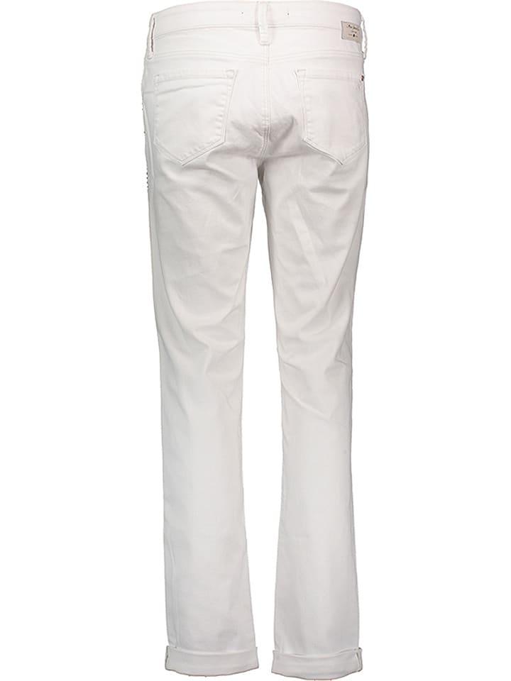 """Mavi Jeans Jeans """"Andrea"""" - Boyfriend fit - in Weiß"""