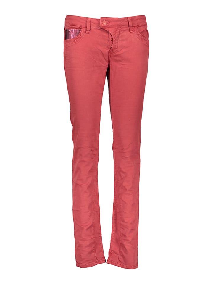"""Mavi Jeans Jeans """"Sophie"""" - Slim Skinny - in Rot"""
