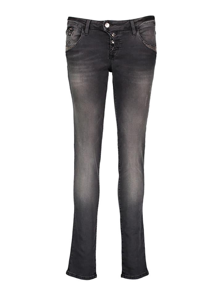 Mavi Jeans Jeans Nicole - Super Skinny - in Anthrazit