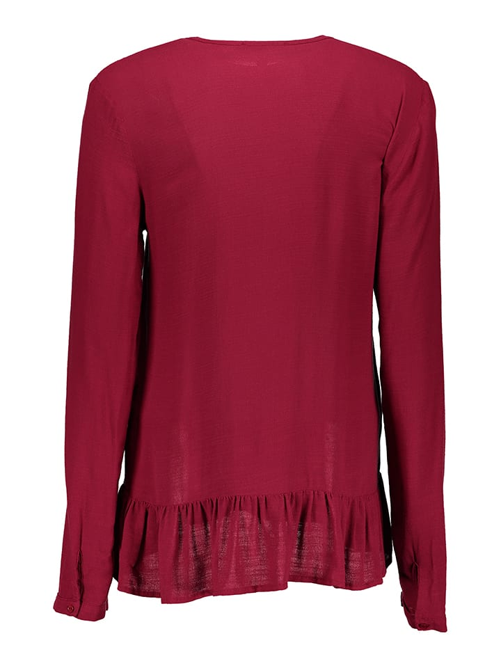 Mavi Jeans Shirt in Fuchsia