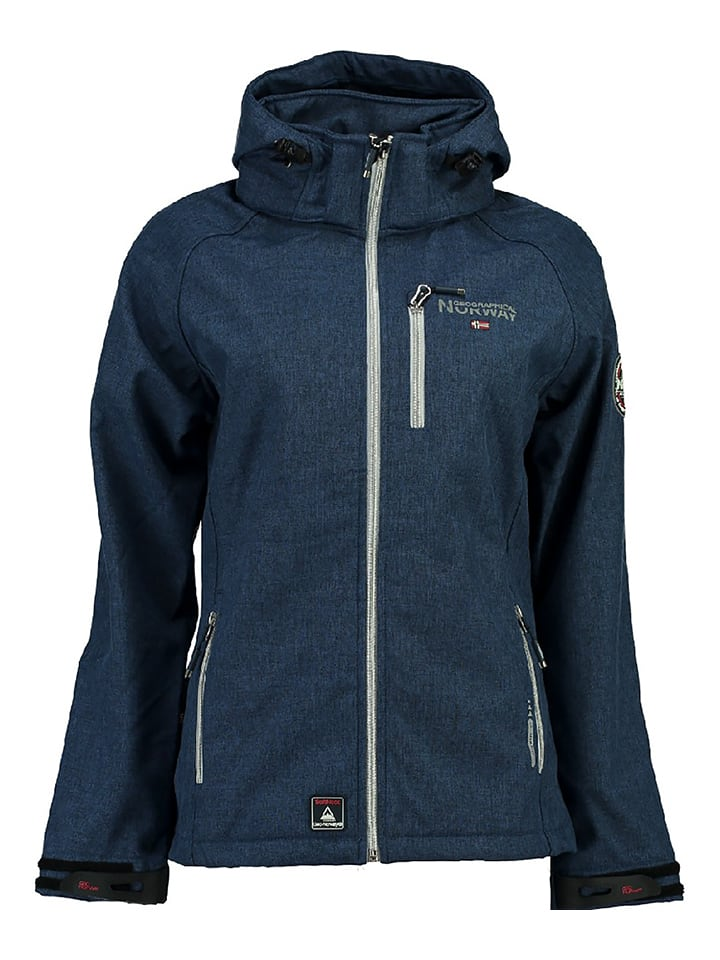 "Geographical Norway Softshelljacke ""Tilapia"" in Blau"