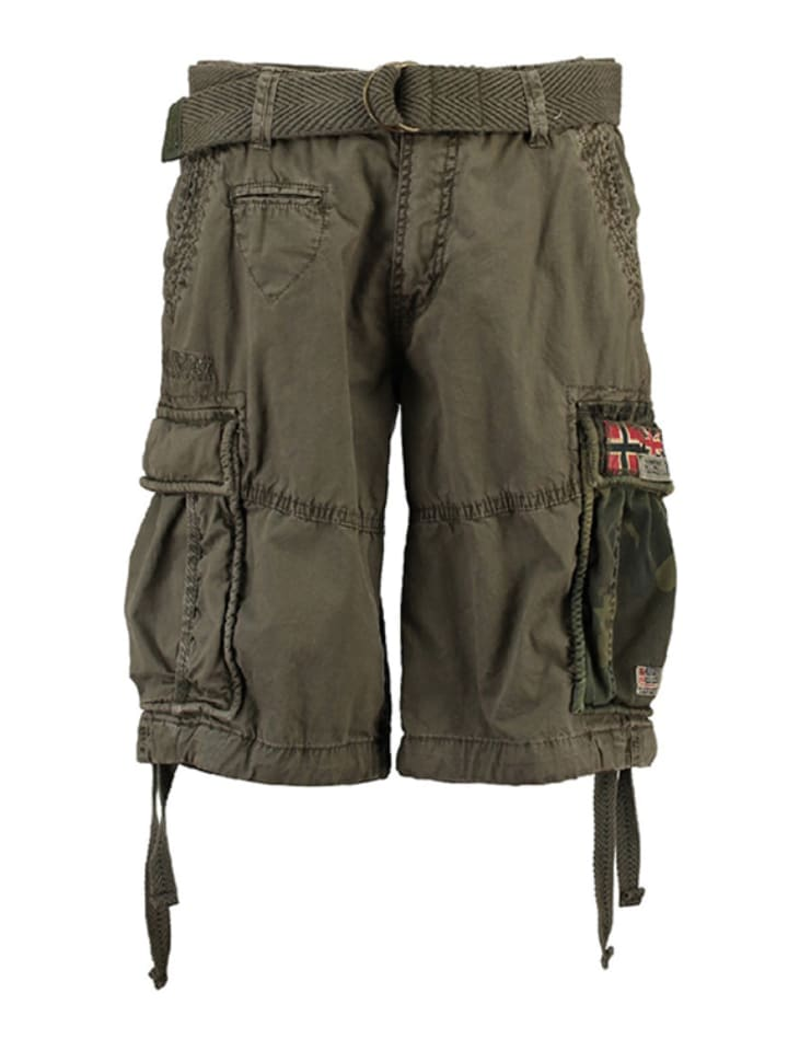"""Geographical Norway Bermudas """"Paragone"""" in Oliv"""