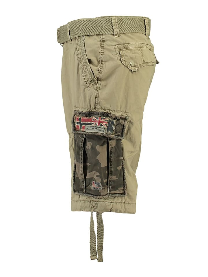 "Geographical Norway Bermudas ""Paragone"" in Beige"