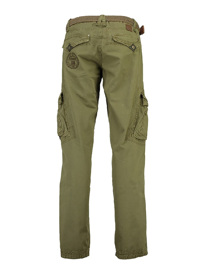 "Geographical Norway Cargohose ""Parapente"" in Khaki"