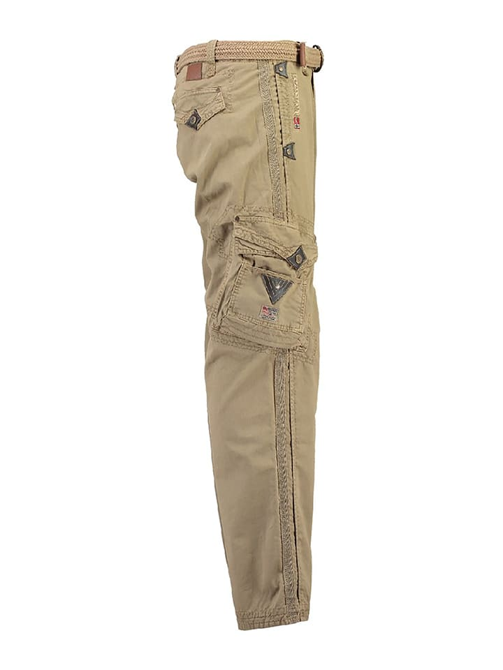 """Geographical Norway Cargohose """"Parapente"""" in Beige"""