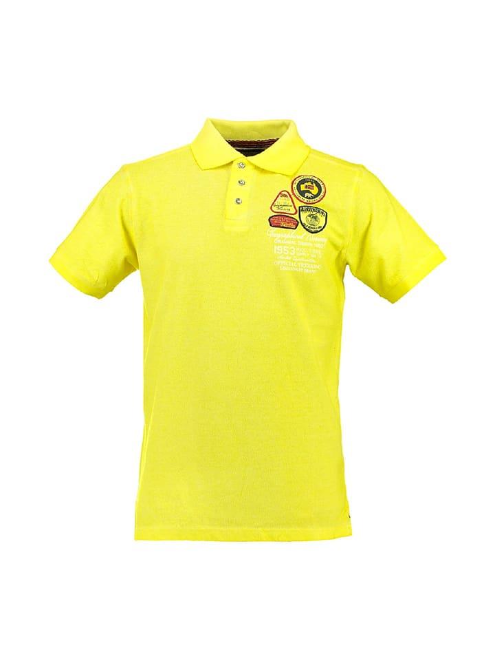 "Geographical Norway Poloshirt ""Karachef"" in Gelb"