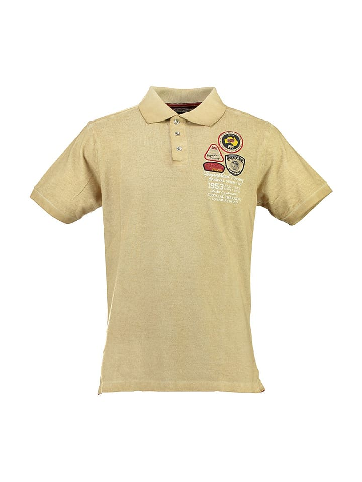 Geographical Norway Poloshirt Karachef in Beige