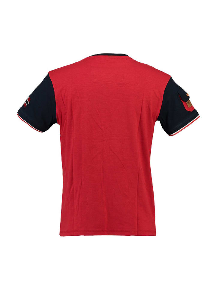 "Geographical Norway Shirt ""Jeradok"" in Rot"