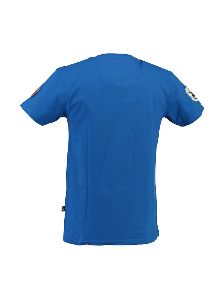 "Geographical Norway Shirt ""Jilliam"" in Blau"