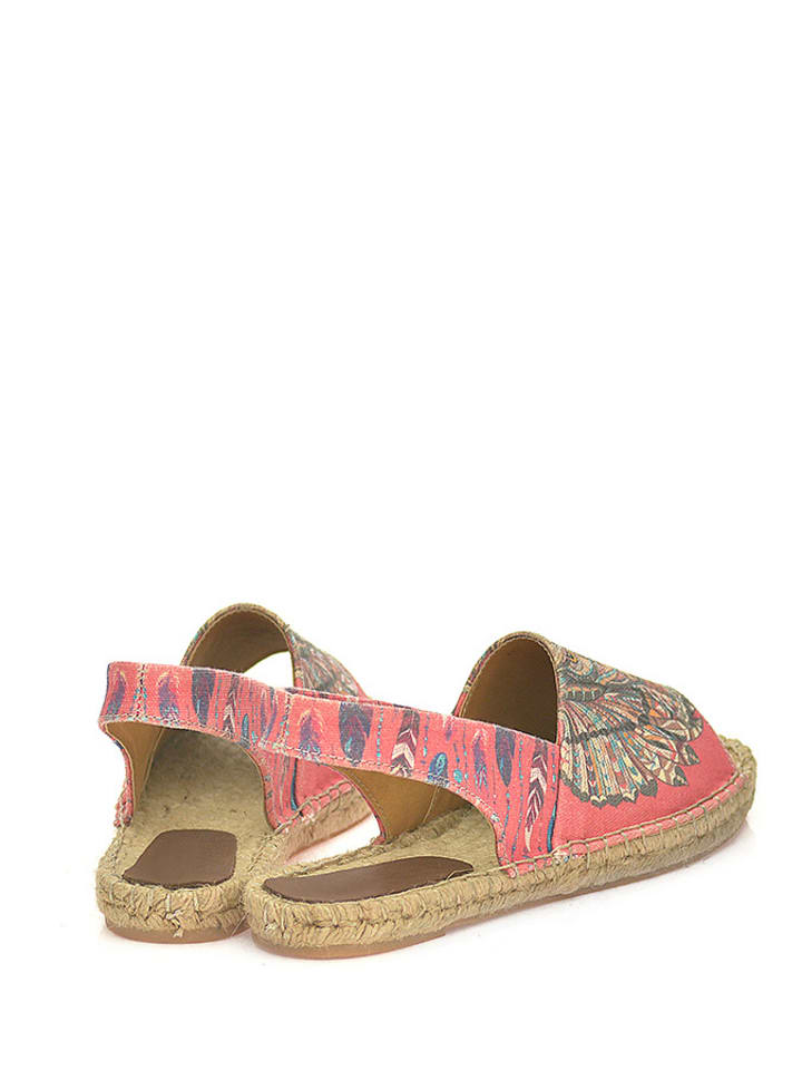 Sundias Sandalen in Pink/ Bunt