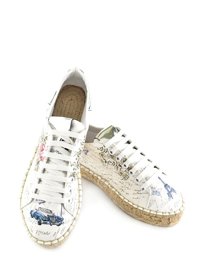 Sundias Sneakers in Weiß/ Bunt