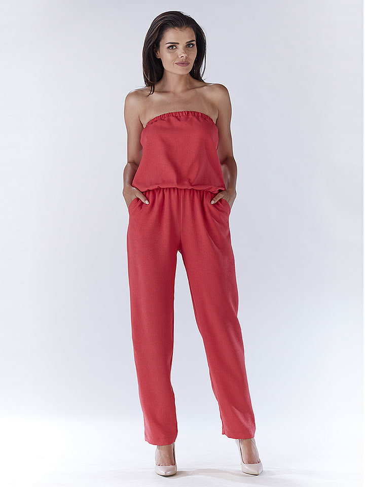 Awama Jumpsuit in Pink