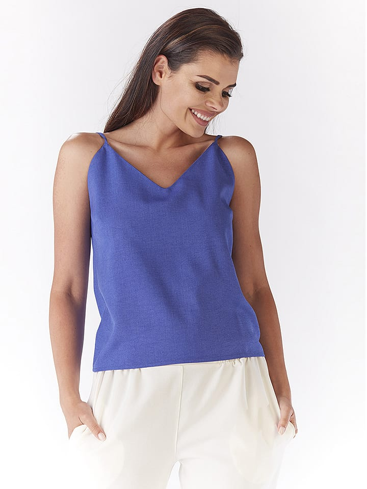Awama Top in Blau