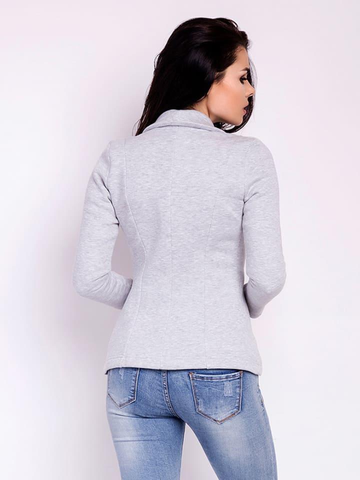 Awama Blazer in Grau