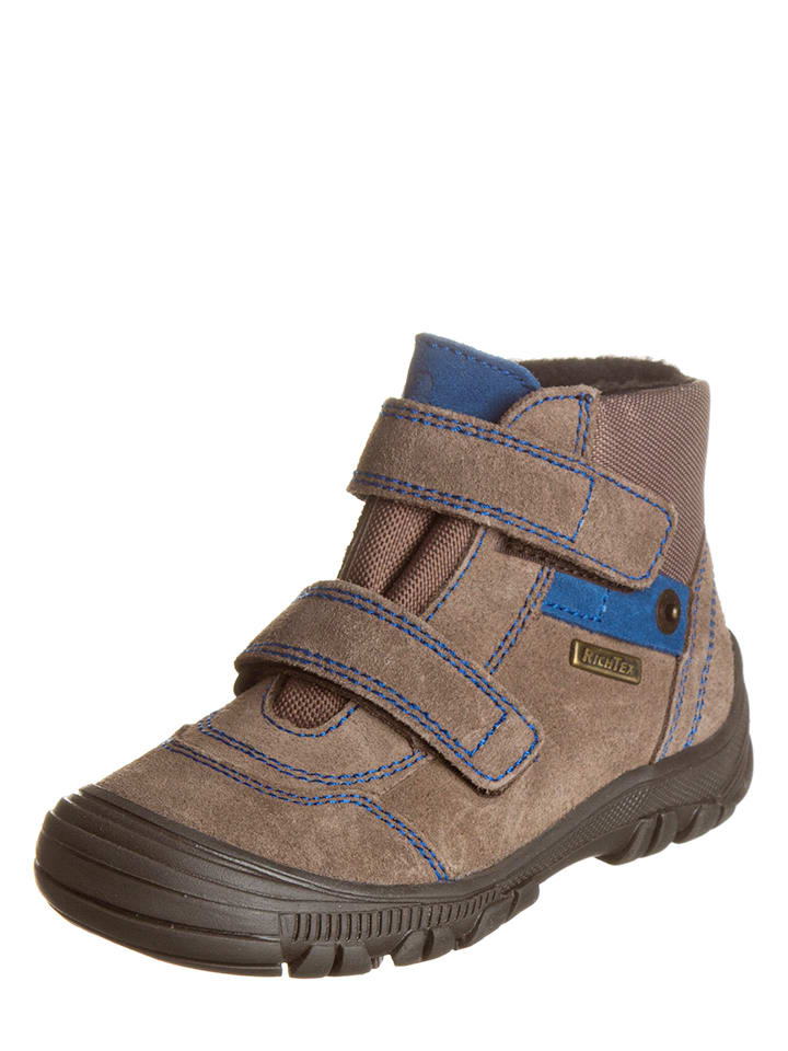 Richter Shoes Boots in Hellbraun