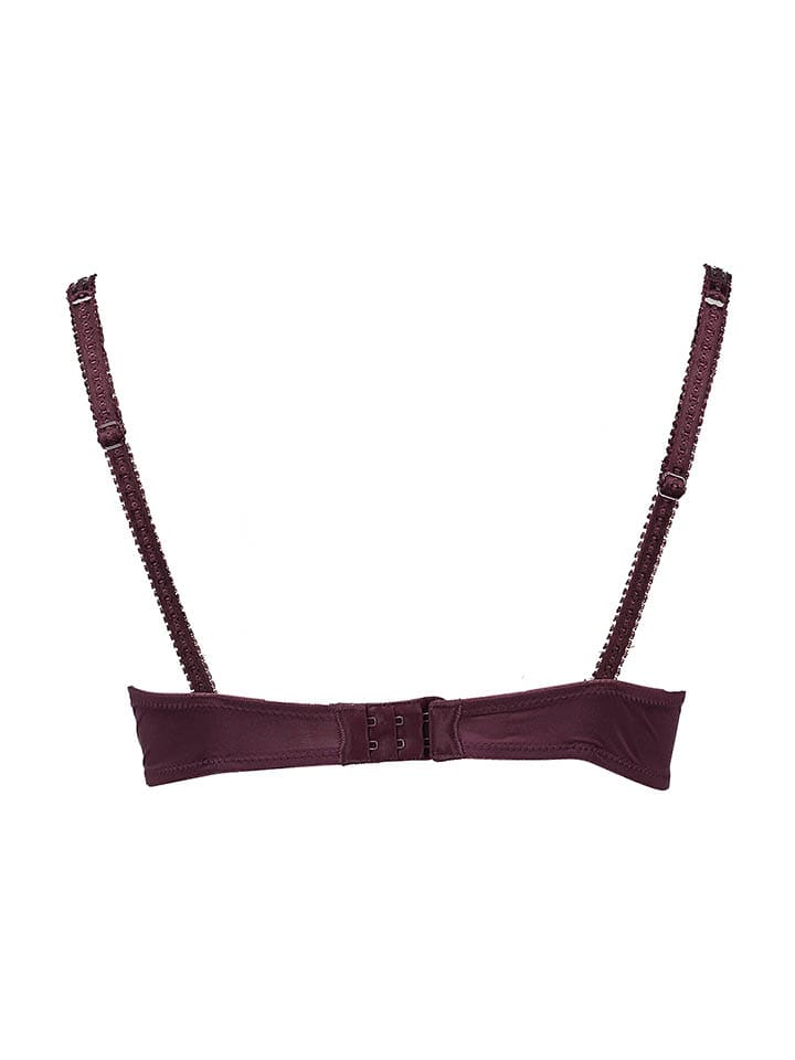Vivance Push-up-BH in Aubergine