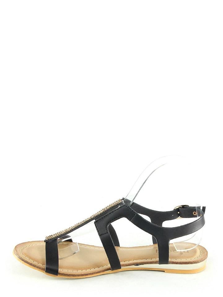 Moow Sandalen in Schwarz