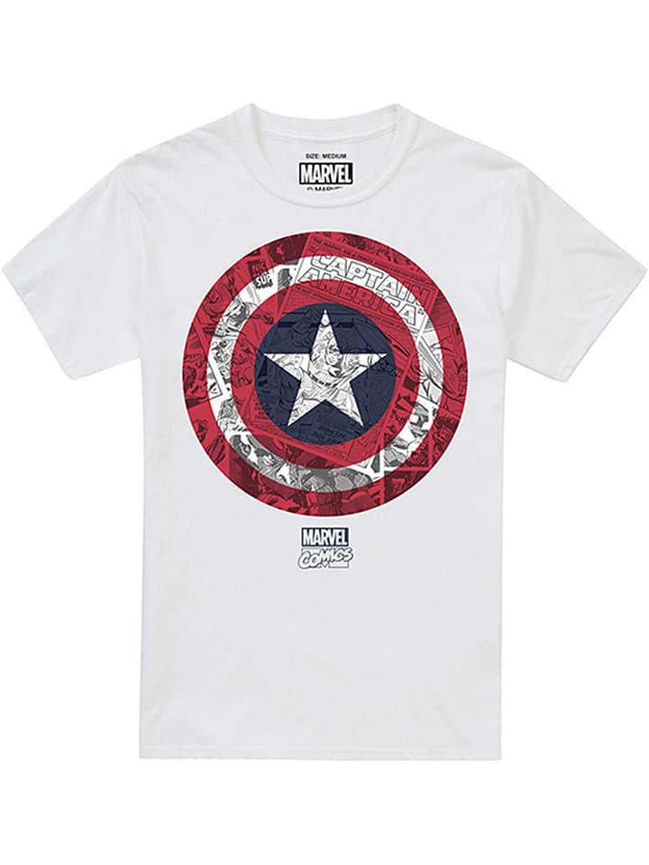 Marvel Shirt in Weiß