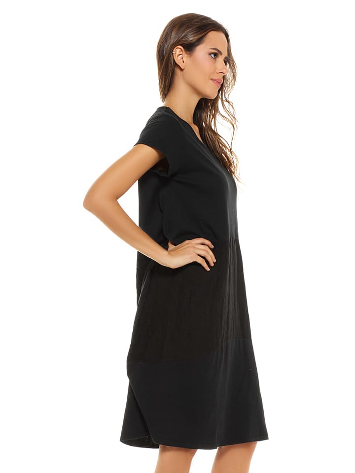 "French Code Kleid ""Elena"" in Schwarz"