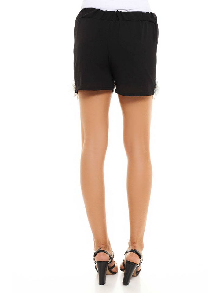 "French Code Shorts ""Opal"" in Schwarz"