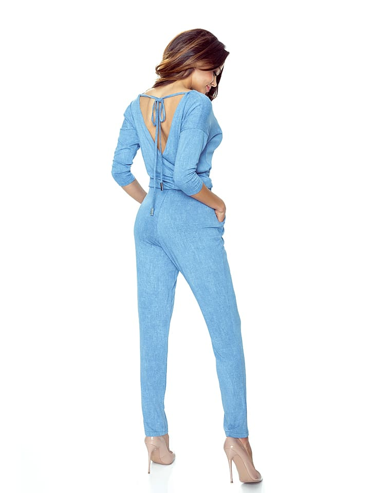 BERGAMO Jumpsuit in Blau