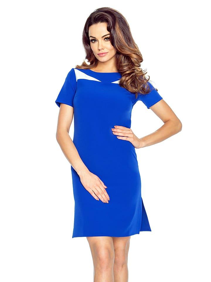 BERGAMO Kleid in Blau
