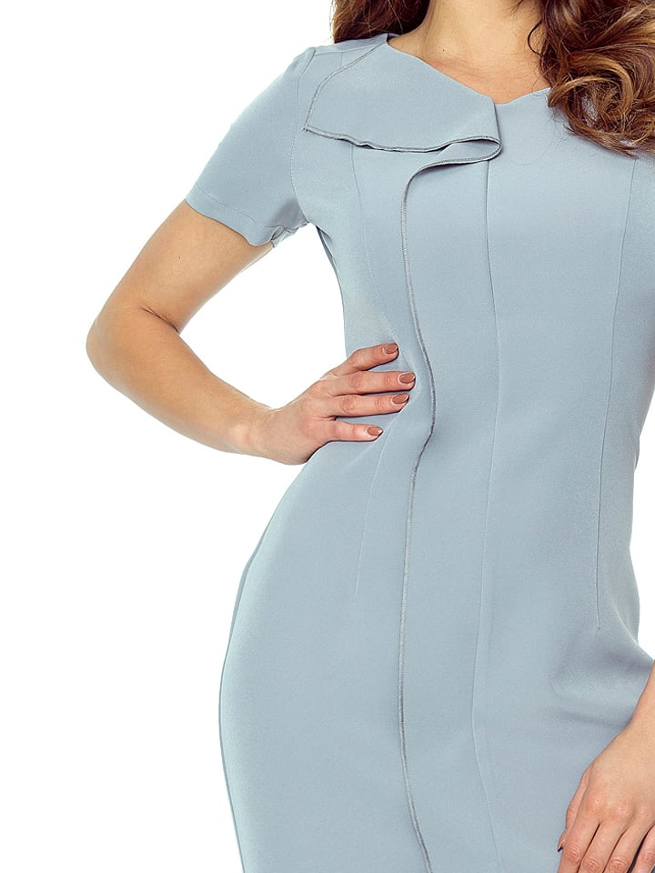 BERGAMO Kleid in Grau