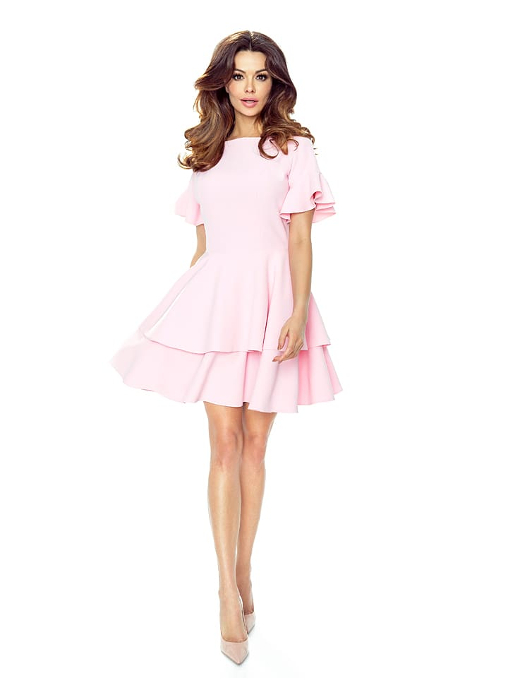 BERGAMO Kleid in Rosa