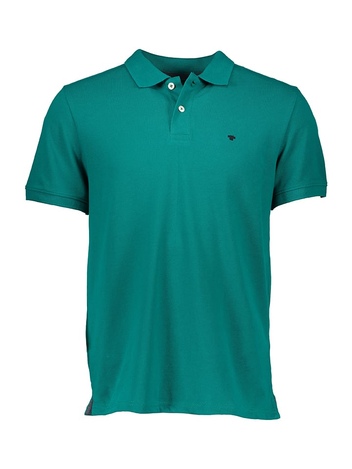 Tom Tailor Poloshirt in Petrol
