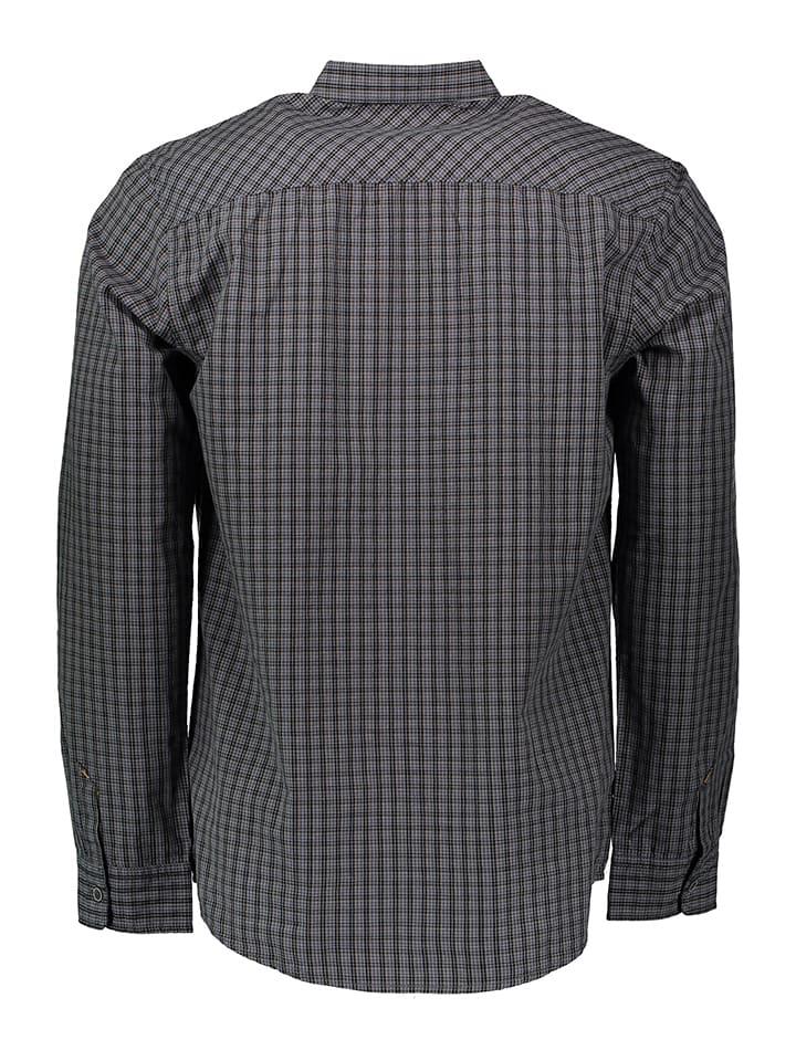 Tom Tailor Hemd in Dunkelgrau