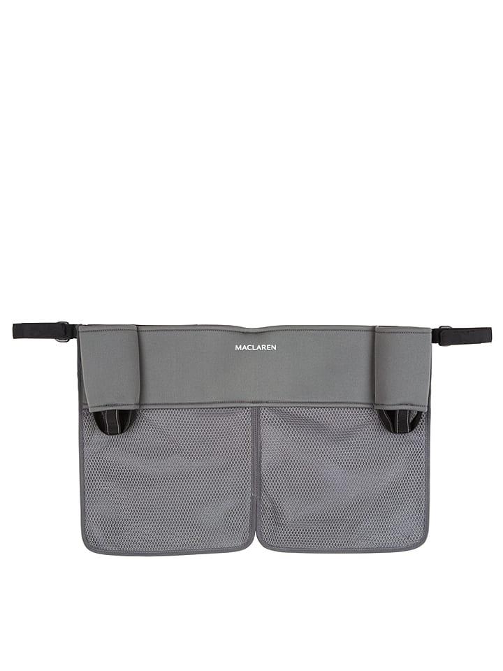 """MACLAREN Organiseur pour poussette canne """"Twin"""" - gris - 59 x 39 x 3,5 cm"""