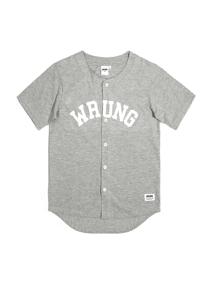 WRUNG Shirt in Grau