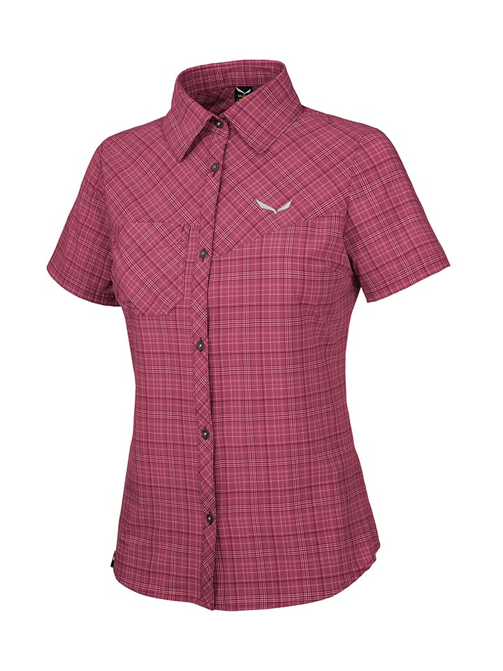 "Salewa Funktionsbluse ""Puez"" in Pink"