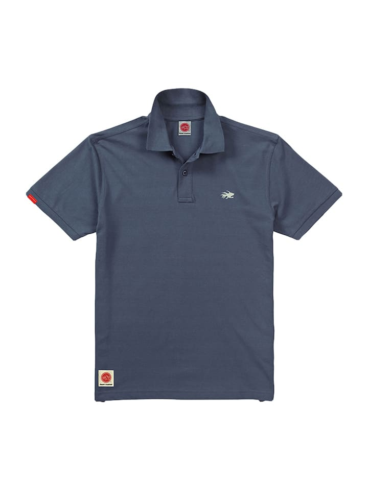 "Hot Tuna Poloshirt ""Core"" in Blau"