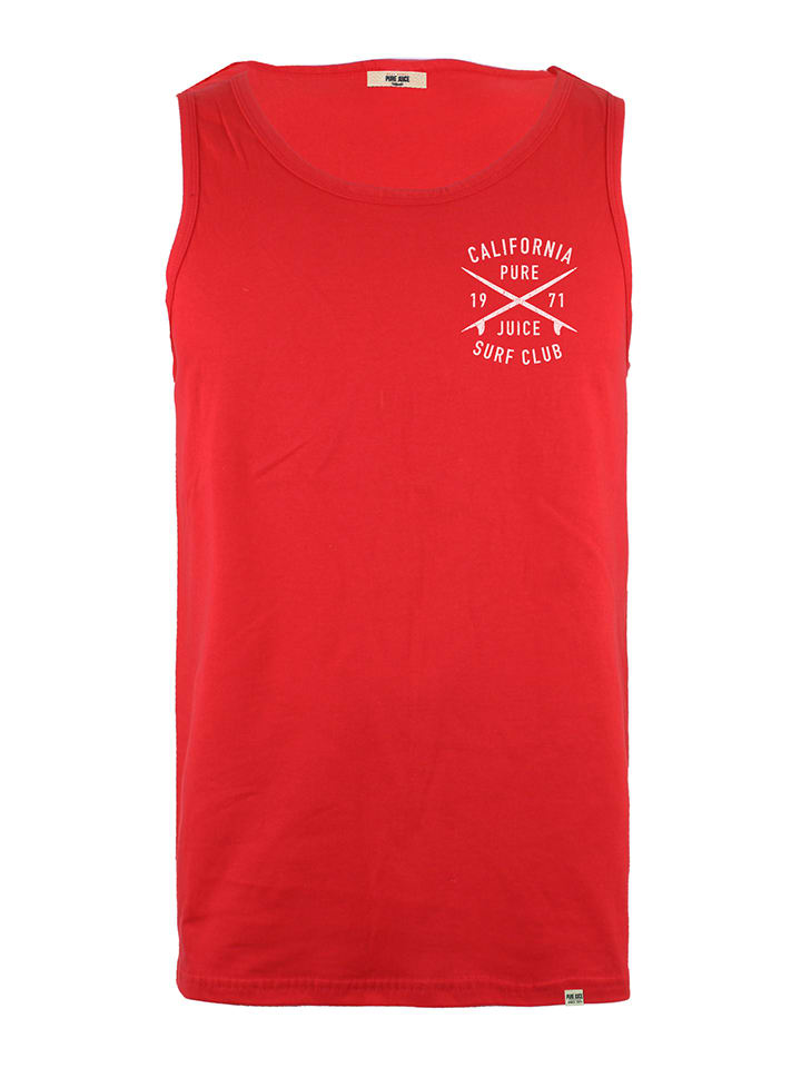 Pure Juice Tanktop in Rot