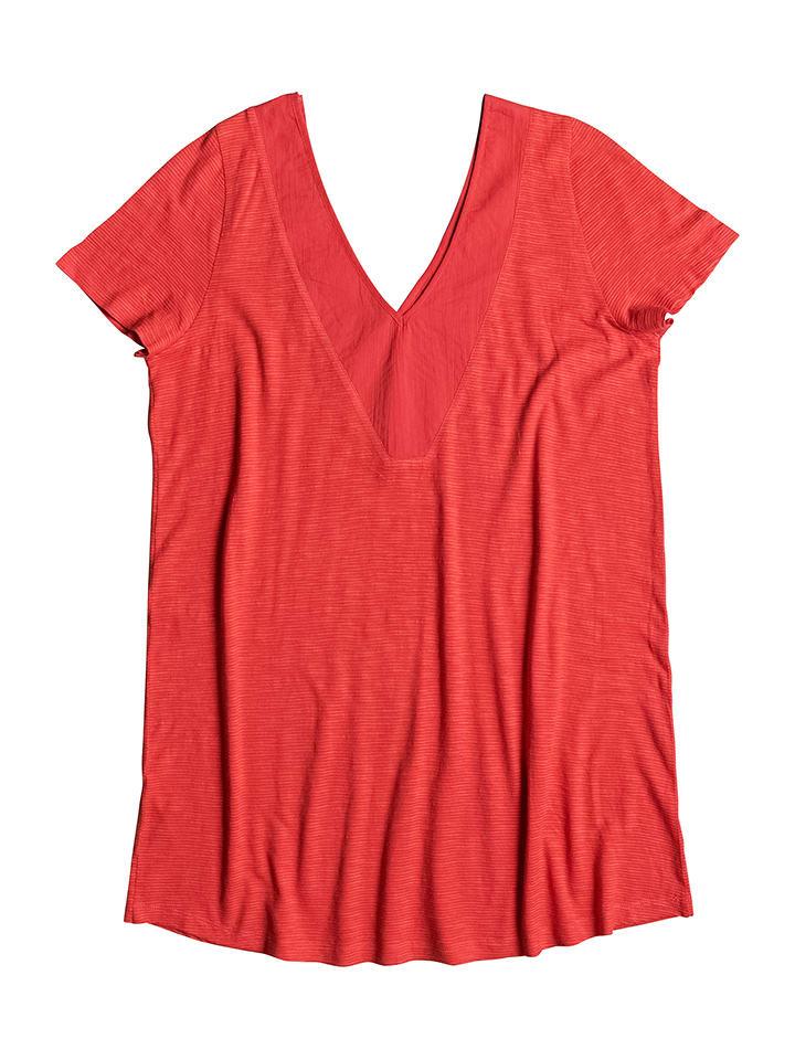 """Roxy Shirt """"Dust in the wind"""" in Rot"""