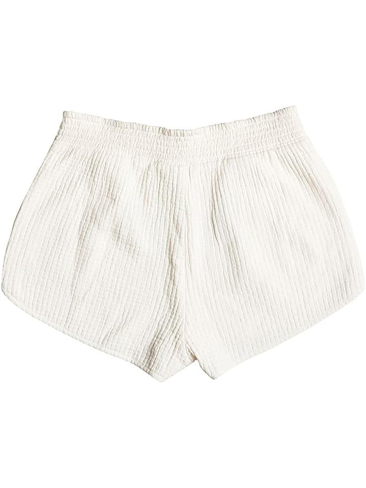 "Roxy Shorts ""Flyingbirds"" in Creme"