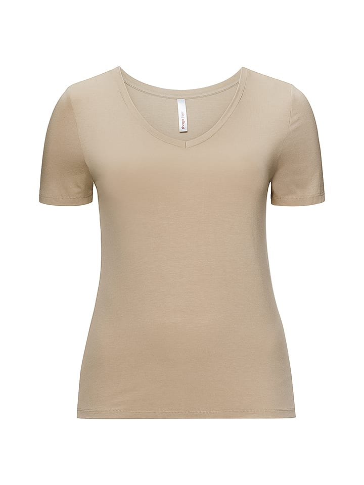 Sheego Shirt in Beige