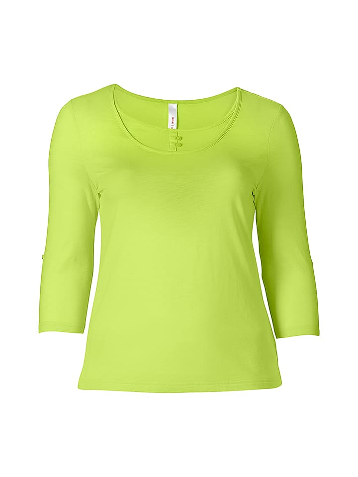 Sheego Shirt in Lime