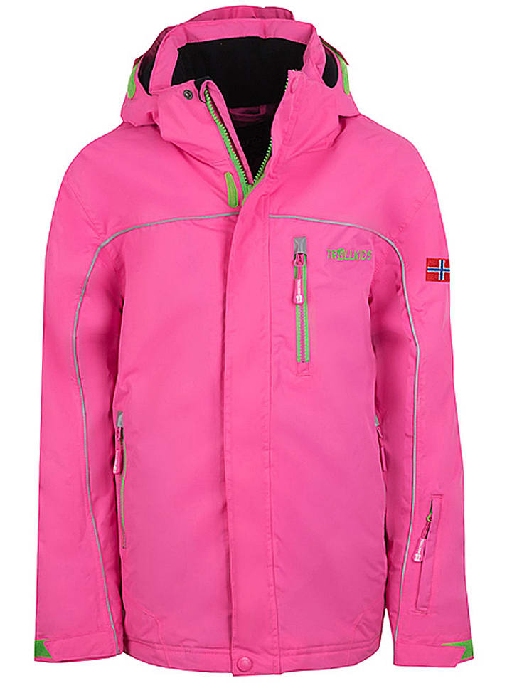 Trollkids Ski-/ Snowboardjacke Holmenkollen in Pink