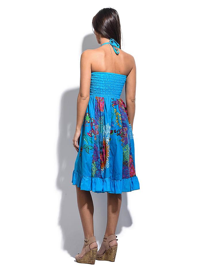 "Namaste Kleid ""Clara"" in Blau/ Bunt"