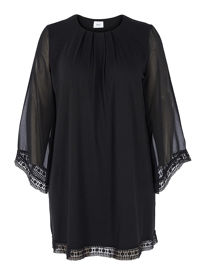 Zizzi Kleid in Schwarz