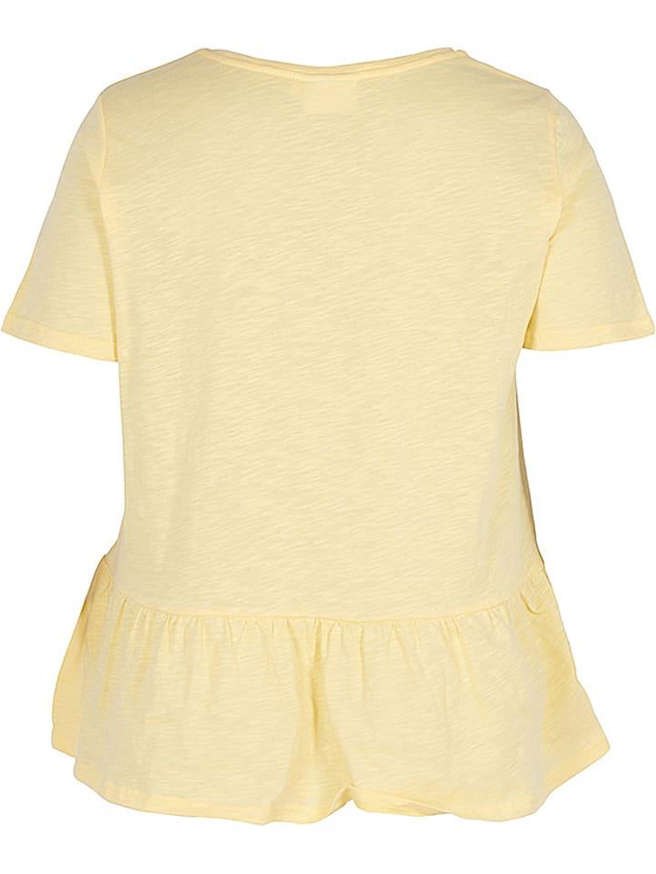 Zizzi Shirt in Gelb