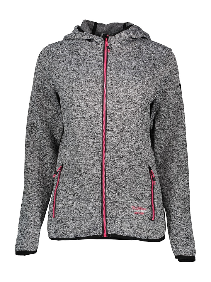 "Killtec Fleecejacke ""Nasira"" in Grau"