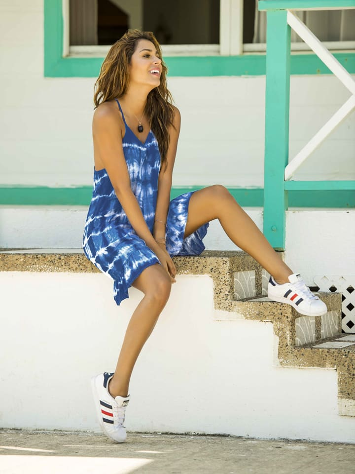 "PHAX swimwear Kleid ""Floridita Scent"" in Blau"