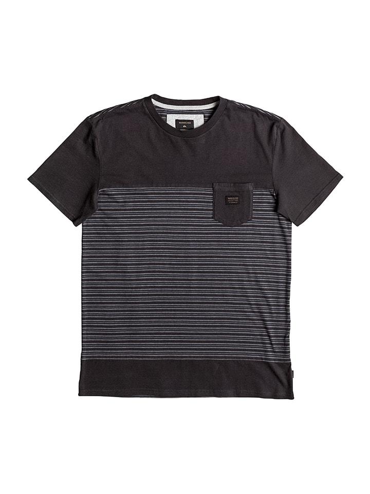 "Quiksilver Shirt ""Fulltide"" in Schwarz/ Grau"
