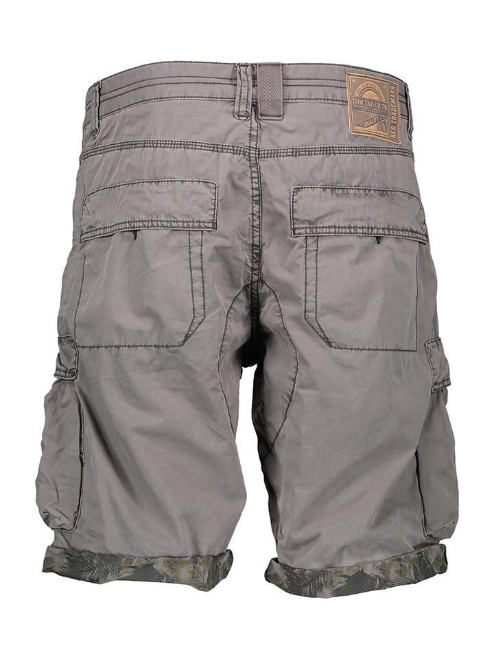 Tom Tailor Shorts in Grau