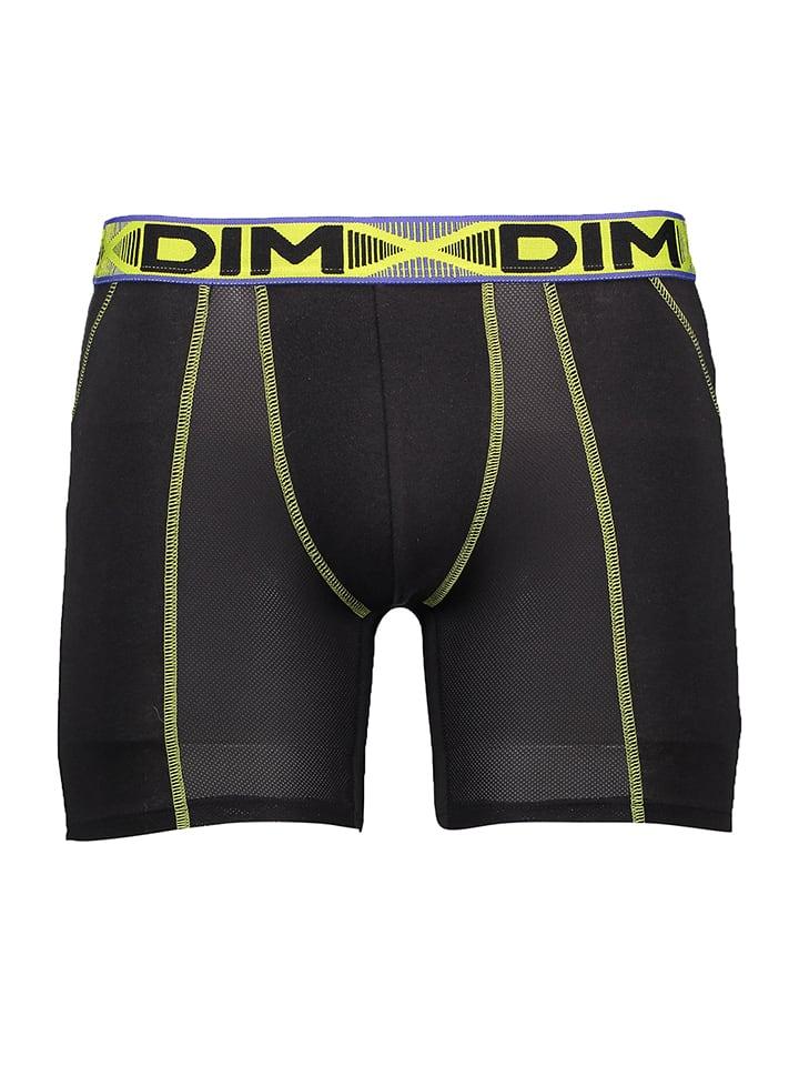DIM 2er-Set: Boxershorts in Blau/ Schwarz