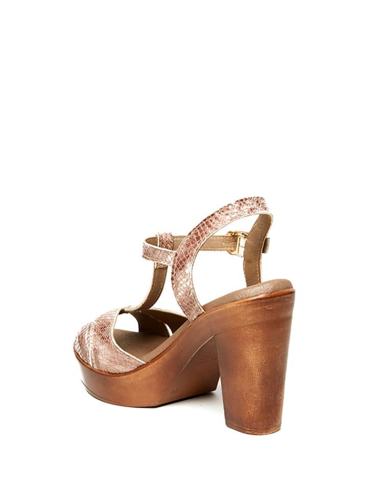 Uma Sandaletten in Rosa
